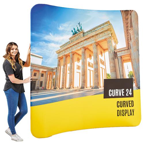 Curve 24 Fabric Display